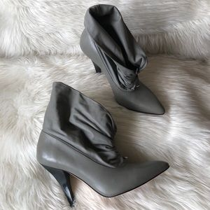 NWOB Report Signature Grey Slouch Booties 8